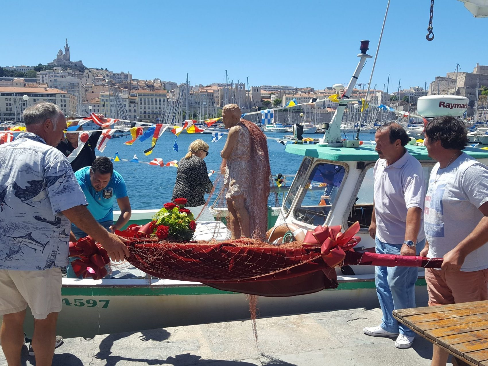 Saint-Pierre, patron des pêcheurs.
