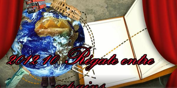 Régate entre copains Canotiers marseillais – Octobre 2012