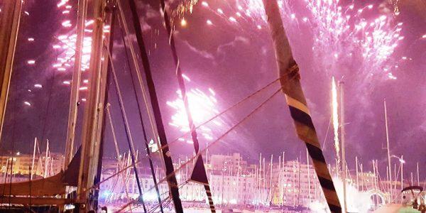 Feu artifice aux canotiers marseillais – 15 juillet 2017